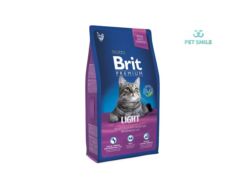 NEW Brit Premium Cat LIGHT 8kg