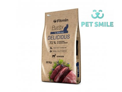 Fitmin cat Purity Delicious - 10kg