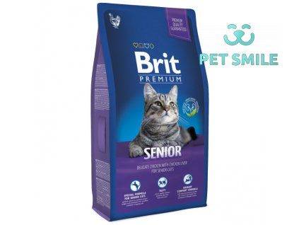 NEW Brit Premium Cat SENIOR 1,5kg