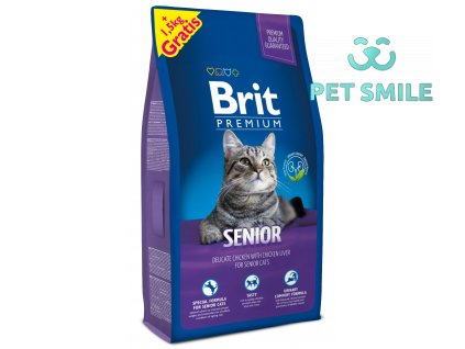 NEW Brit Premium Cat SENIOR 8kg