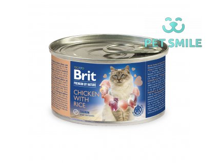 Brit Premium by Nature Chicken with Rice 200g