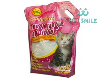 Crystal Cat litter - 10 litrů
