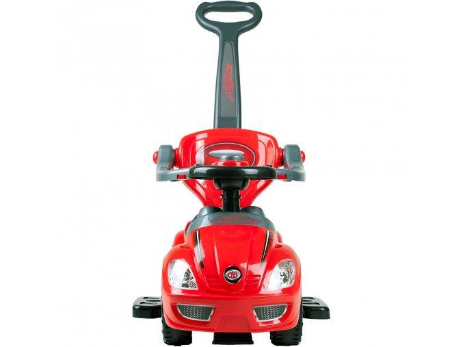 Baby Mix Jezdítko MEGA CAR 3v1 auto - červené Varianta Barva: