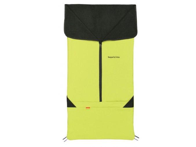 Emitex Jarní fusak 2v1 SAM fleece + softshell Barva Šedý