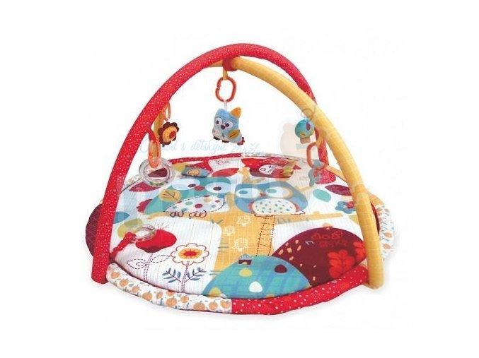 Baby Mix Hrací deka Sova 3