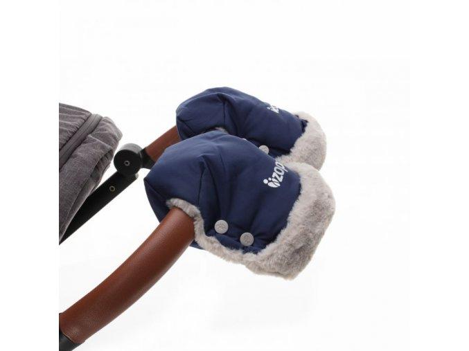 ZOPA Zimní rukavice FLUFFY Night Black