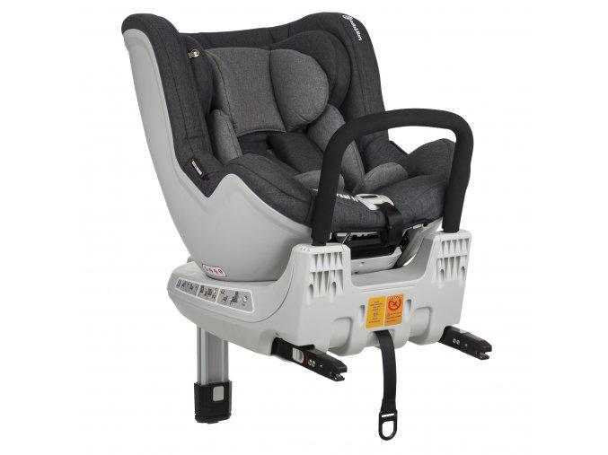 Petite&mars Reversal II Isofix 2021 - Grey 360