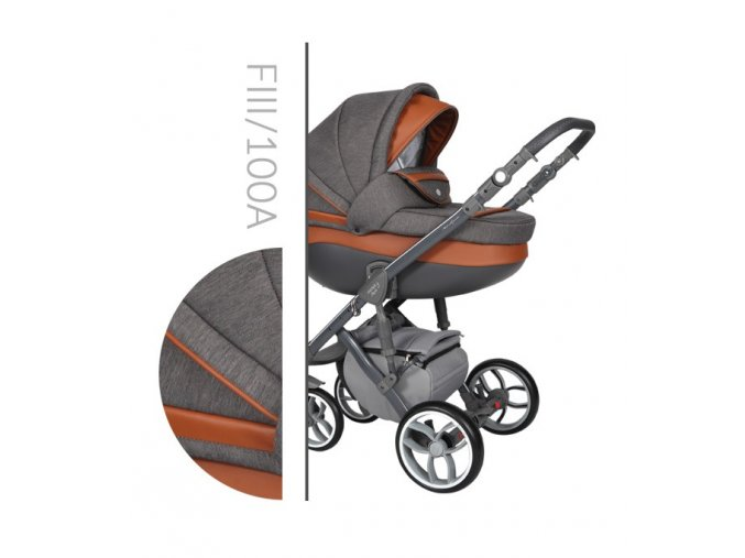 Baby Merc Faster 3 Kombinovaný kočárek