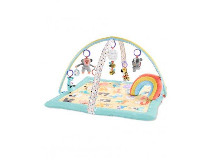 SKIP HOP - Deka na hraní 5 hraček +polštářek ABC & ME 0 m+