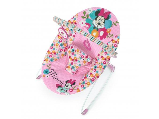 Disney Lehátko vibrující Minnie Mouse Perfect in Pink 0m +,