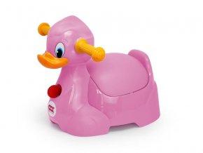 OK baby Nočník Quack růžová