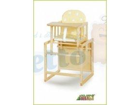 Klupš Dřevěná židlička se stolečkem Anežka