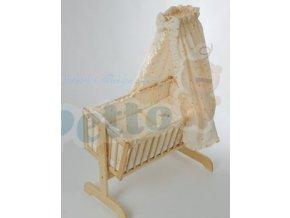 Souprava Šárka - textilní povlečení   do kolébky