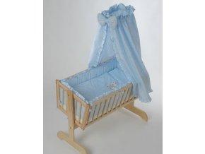 Souprava Méďa - textilní povlečení do kolébky Souprava Méďa - textilní povlečení do kolébky