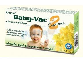 Arianna Baby-Vac 2 Ergonomic s čistícím kartáčkem