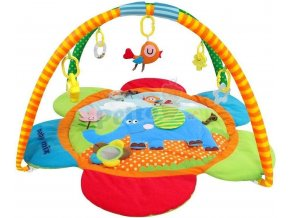 Baby Mix Hrací deka Slon