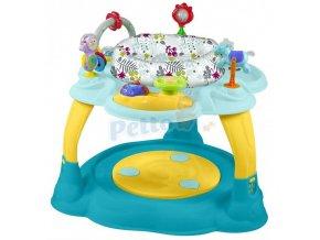 Baby Mix Multifunkční dětský stoleček - hrací centrum s trampolínkou
