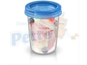 Avent VIA pohárky 240ml s víčkem - 5 ks