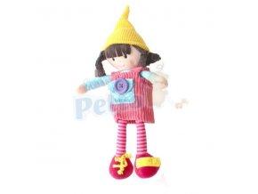 Baby Mix Panenka oblékací s čepičkou