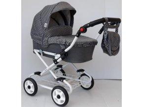 Nestor Ania kočárek pro panenky grey exclusive