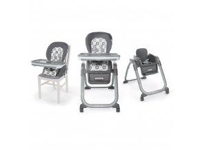 Ingenuity Židle jídelní SmartServe 4v1 Clayton 4v1 do 22kg