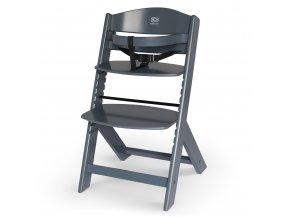 Kinderkraft Enock Grey Jídelní židle