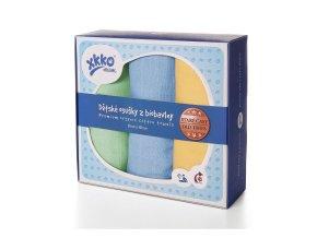 osusky z biobavlny xkko organic 90x100 stare casy pastels for boys 3c3