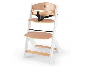 Kinderkraft Enock White wooden Jídelní židle