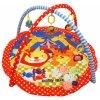 babymix 18 hraci deka s hrazdou lev a tygr ilu