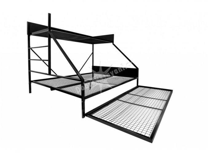 101 1 pevna ocelova postel 160 cm perfecttech brno