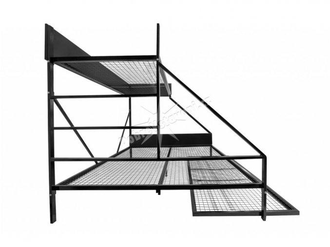 101 pevna ocelova postel 160 cm perfecttech brno