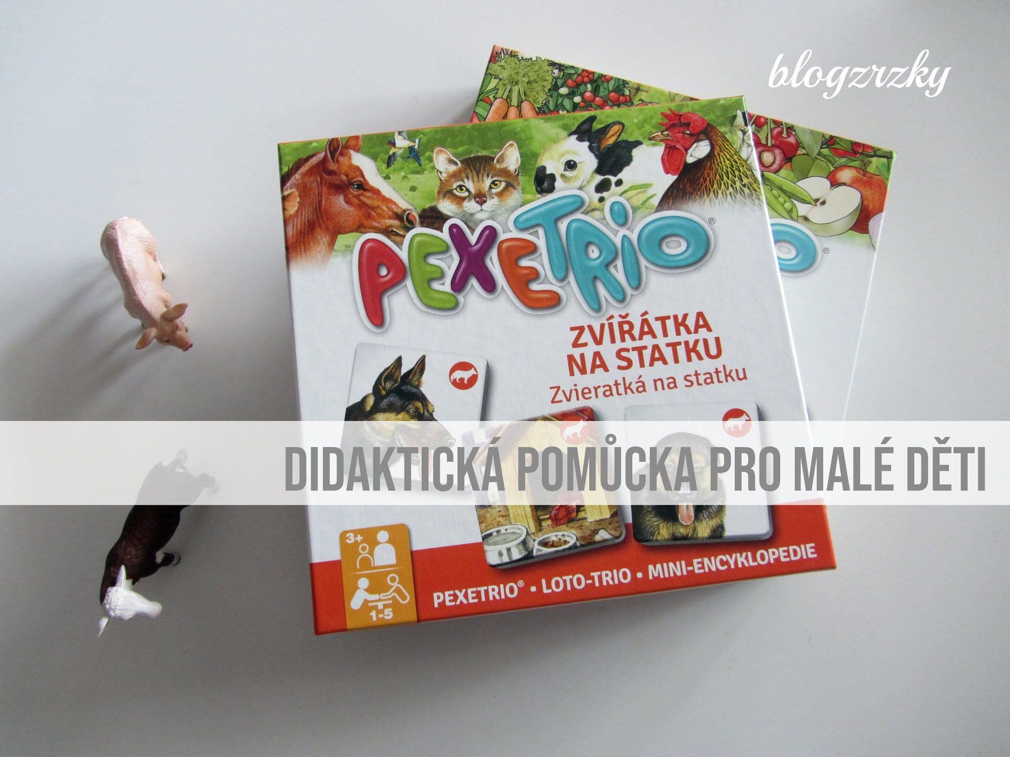 Pexetrio na Blogu Zrzky opět zaujalo