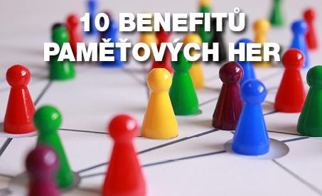 10 benefitů paměťových her
