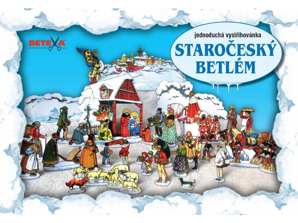 BET 233 Starocesky betlem