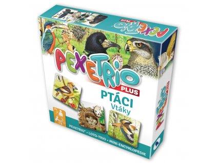 Hra Pexetrio Plus Ptáci