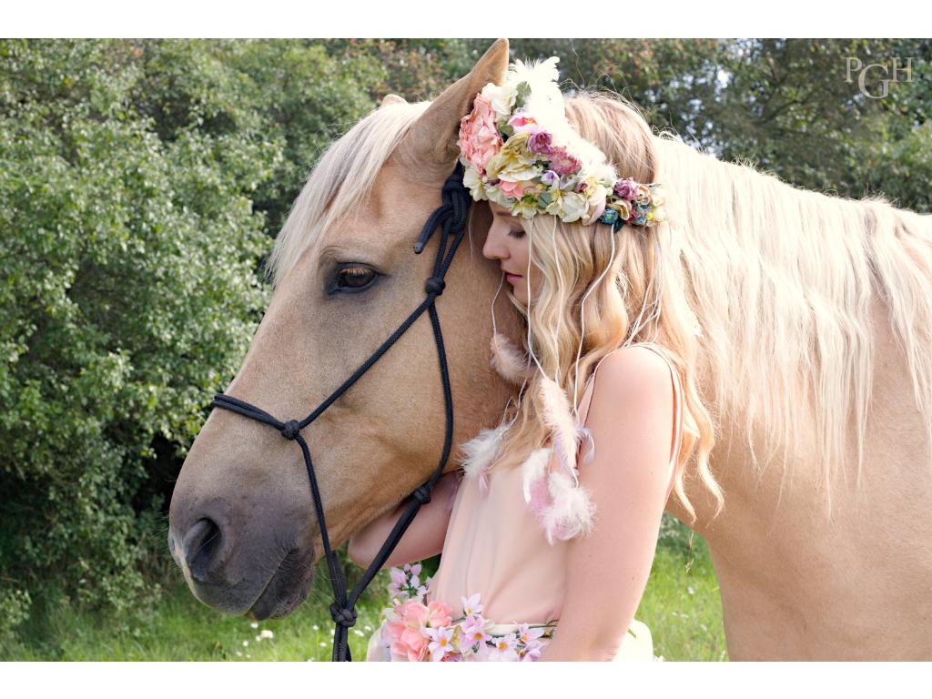 Zážitkové focení s koňmi