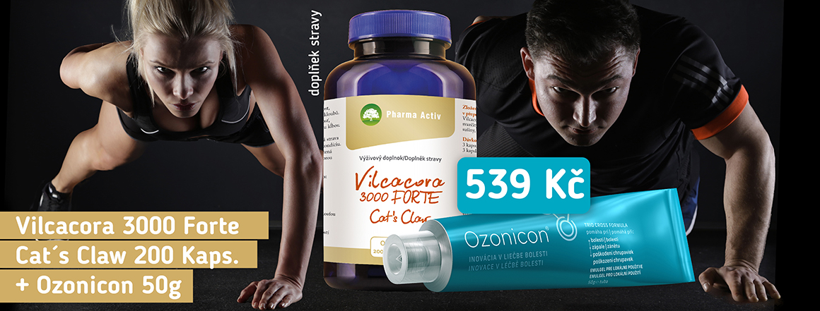 Vilcacora 3000 Forte + Ozonicon 50 g