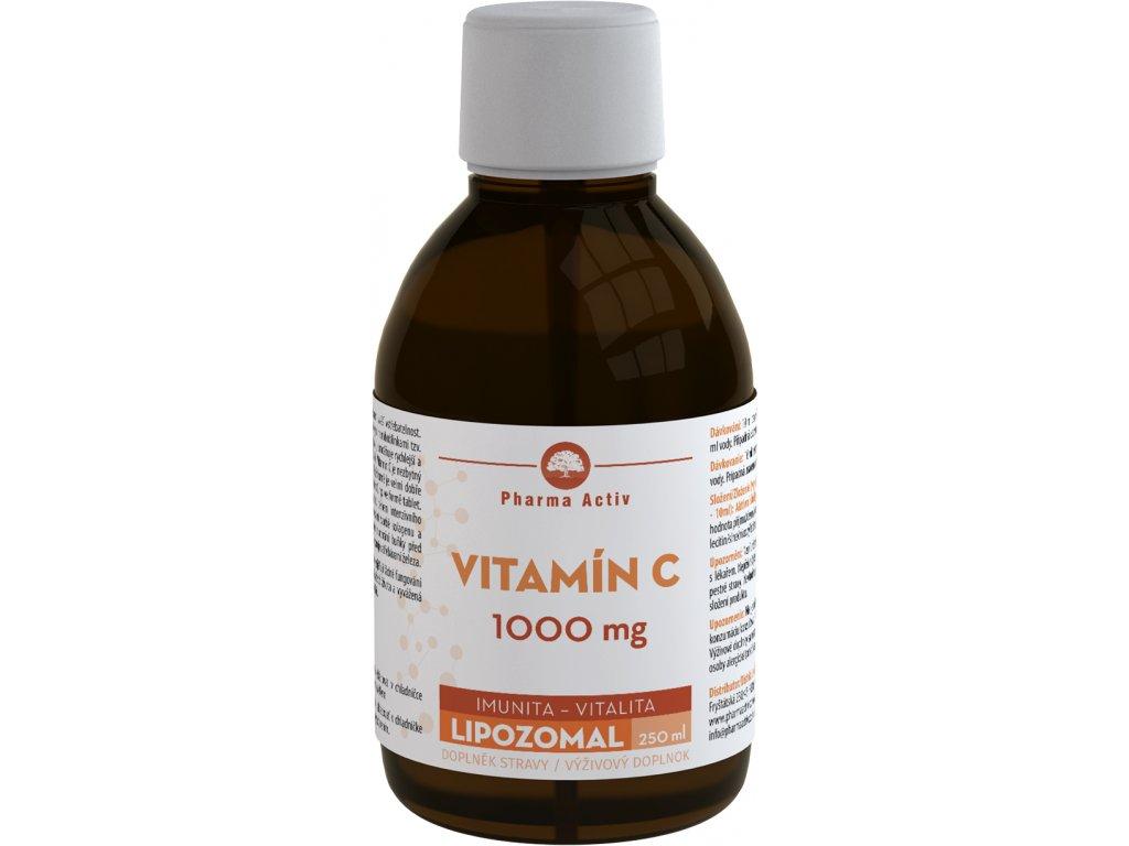LIPOZOMAL Vitamín C 1000mg 250ml