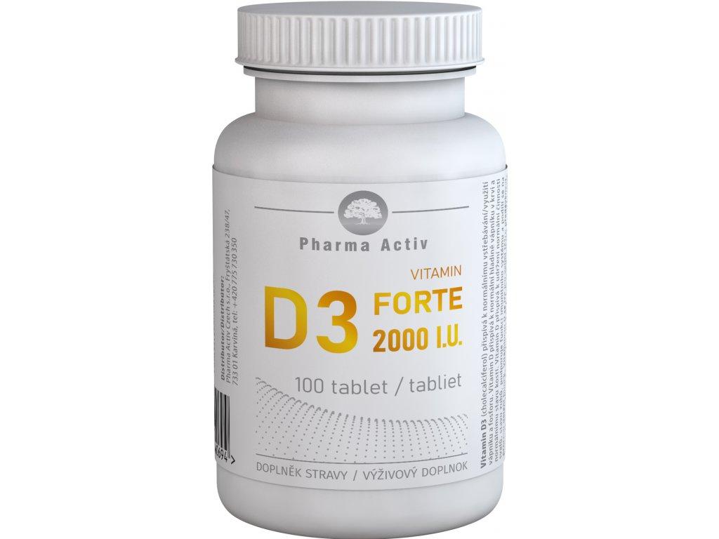 vitamin d3 forte 2000iu 100tablet