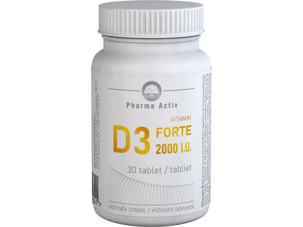vitamin d3 forte 2000iu 30tablet