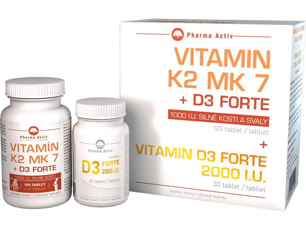 vitamin MK7 D3 box bile