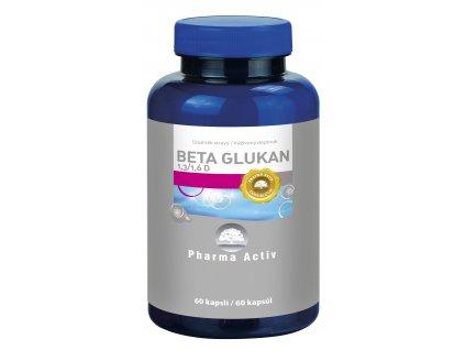 Beta Glukan 1,3/1,6 D, 60 kapslí