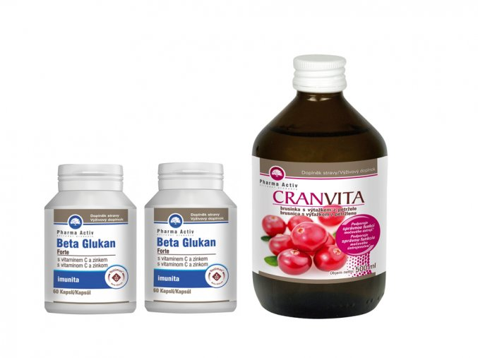 Beta Glukan Forte + Cranvita 500ml