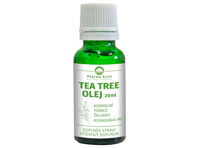 Tea Tree olej 100% s kapátkem 20 ml/Pharma Grade