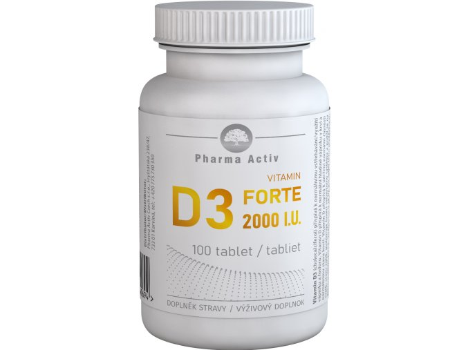 vitamin d3 forte 2000iu 100tablet