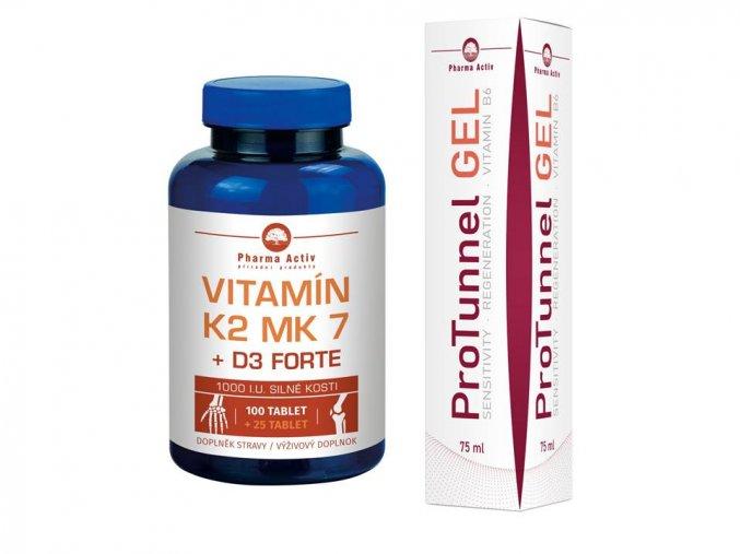 K2 MK7 + D3 Forte 125tbl. + ProTunnel
