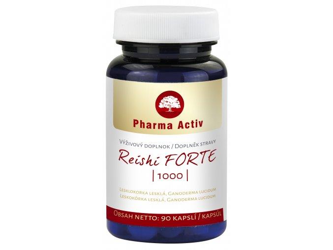 Reishi Forte 1000, 90 kapslí