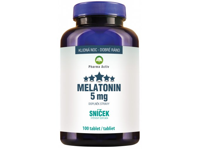 melatonin 5mg sníček
