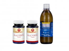 2x Reishi Forte +Ag100 10ppm 500ml