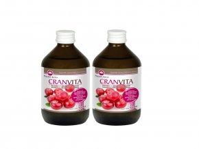 Cranvita 500ml + Cranvita 500ml